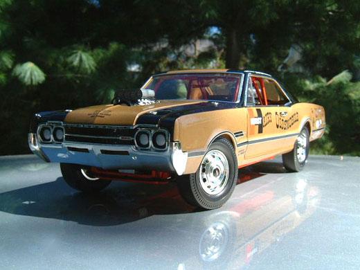 Hurst  Hurst Hairy Olds Model Car  Of