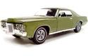 1969 Pontiac Grand Prix SJ 428 - Verdoro Green (Ertl American Muscle) 1/18