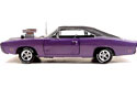 [ 1970 Dodge Charger Street Machine - Plum Crazy Purple (Ertl) 1/18 ]