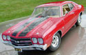 1970 Chevy Chevelle LS6  SS 454 Hardtop - Cranberry Red (Lane Exact Detail) 1/18
