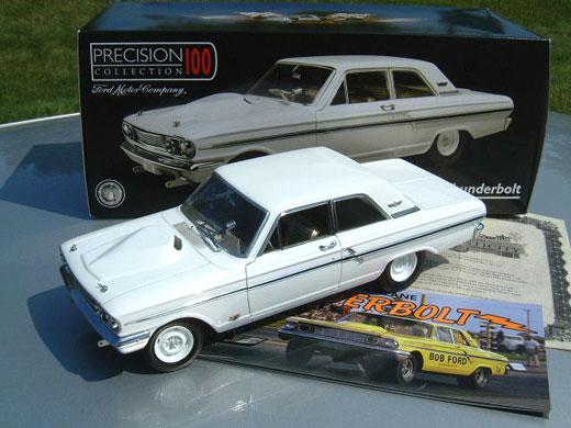 1964 Ford Fairlane Thunderbolt - Cream Yellow (Ertl Precision 100) 1/18